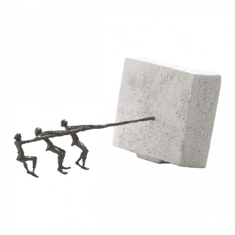 Luise Kött-Gärtner Skulptur kaufen An einem Strang ziehen | Kött-Gärtner