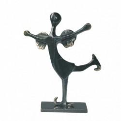Kerstin Stark Bronzeskulpturen | Schieferstele Das Glück