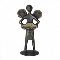 Kerstin Stark Bronzeskulpturen | Schieferstele Paar