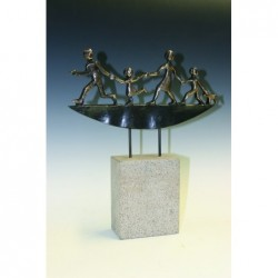 Kerstin Stark Bronzeskulpturen | Freude