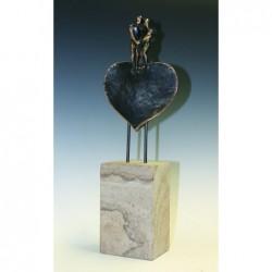 Kerstin Stark Bronzeskulpturen | Mit aller Kraft