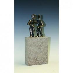 Kerstin Stark Bronzeskulpturen | Mein Herz ruft nach Dir