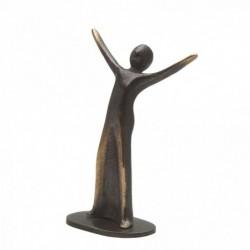 Bronzeskulptur Raimund Schmelter | Babysitter-Schutzengelchen | Raimund Schmelter