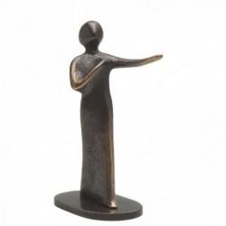 Bronzeskulptur Raimund Schmelter | Unterwegs | Raimund Schmelter