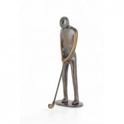 Bronzeskulptur Raimund Schmelter | Handzeichen: Geschafft | Raimund Schmelter