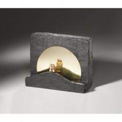 Bronzeskulptur Raimund Schmelter | Schmuckkreuz aus Neusilber | Raimund Schmelter