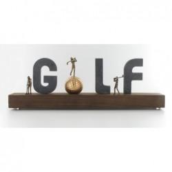 Kerstin Stark Skulpturen kaufen Schriftzug Golf | Kerstin Stark