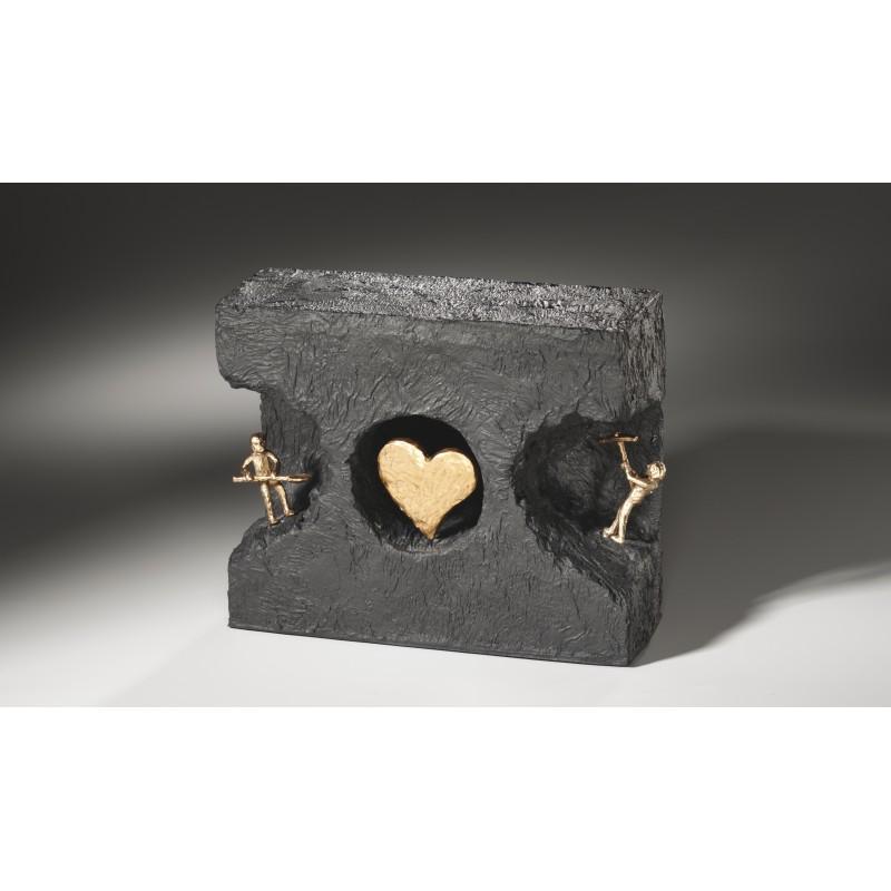 Kerstin Stark Skulpturen kaufen Zueinander finden | Kerstin Stark