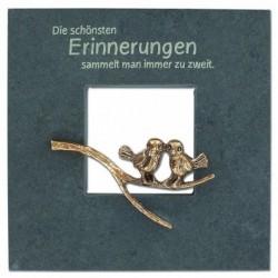 Kerstin Stark Skulpturen kaufen Schieferrahmen Die schönsten Erinnerungen   Kerstin Stark